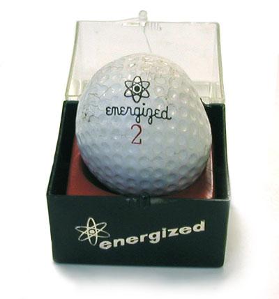 Energized Golf Ball