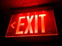 Radioactive Exit Signs