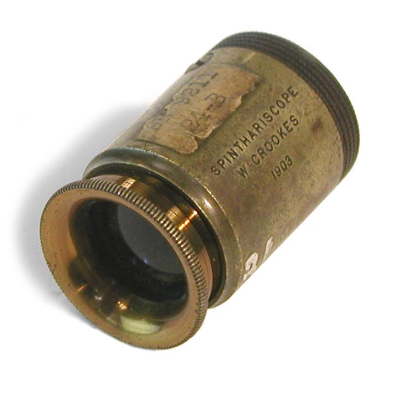 Crookes Spintharscope