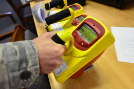 What are the Area Radiation Survey and Radiation Survey Meter Requirements for Fixed Gauges?